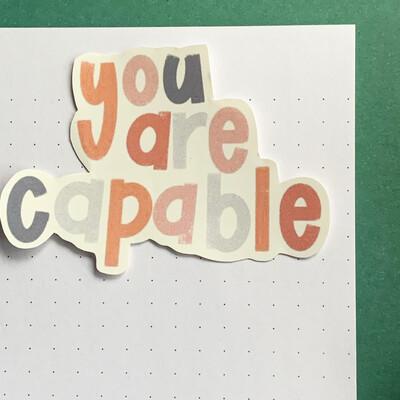 Stickers de Vinil- Capable