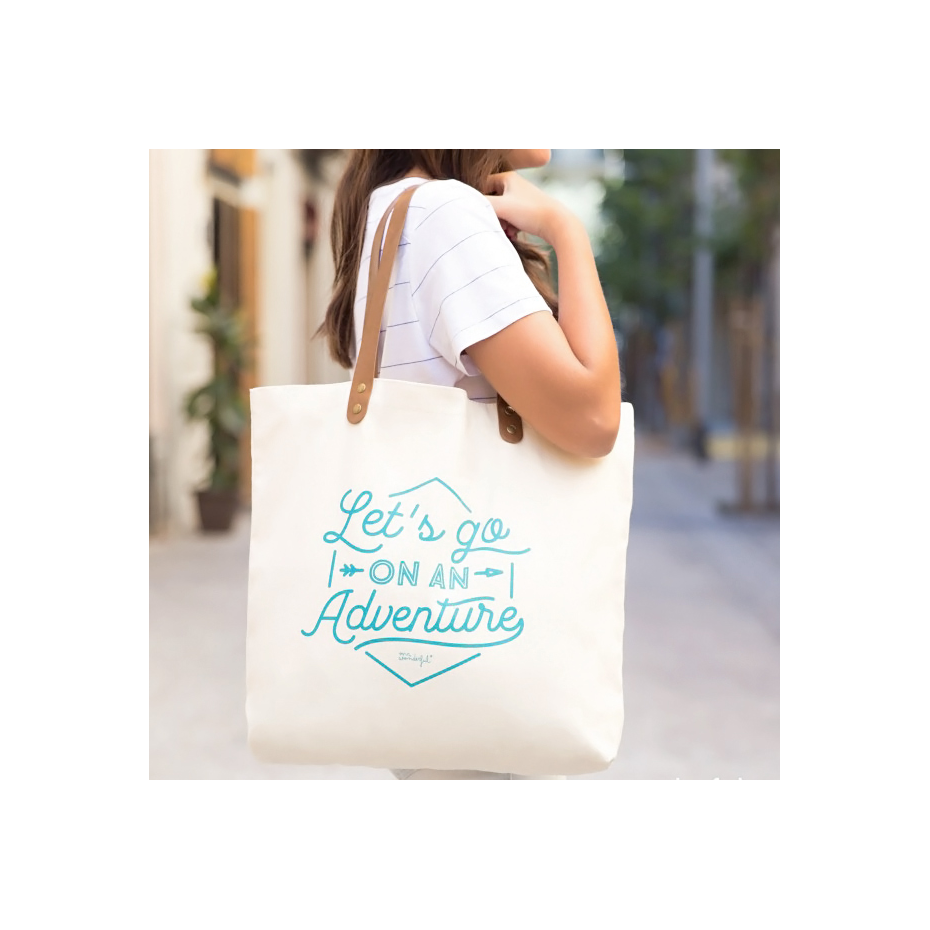let´s go on an adventure- tote bag