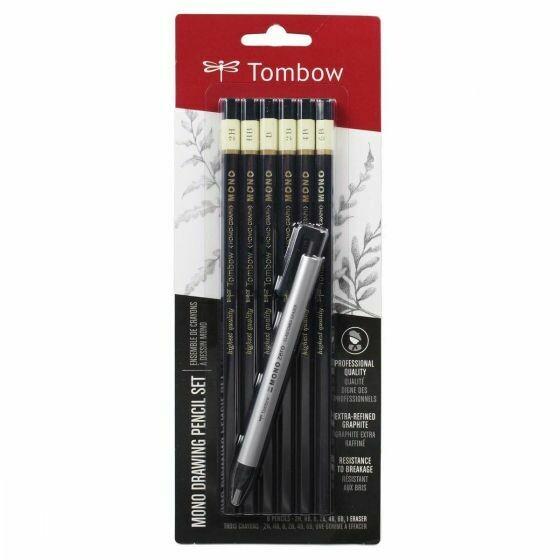 MONO drawing pencil set+ eraser