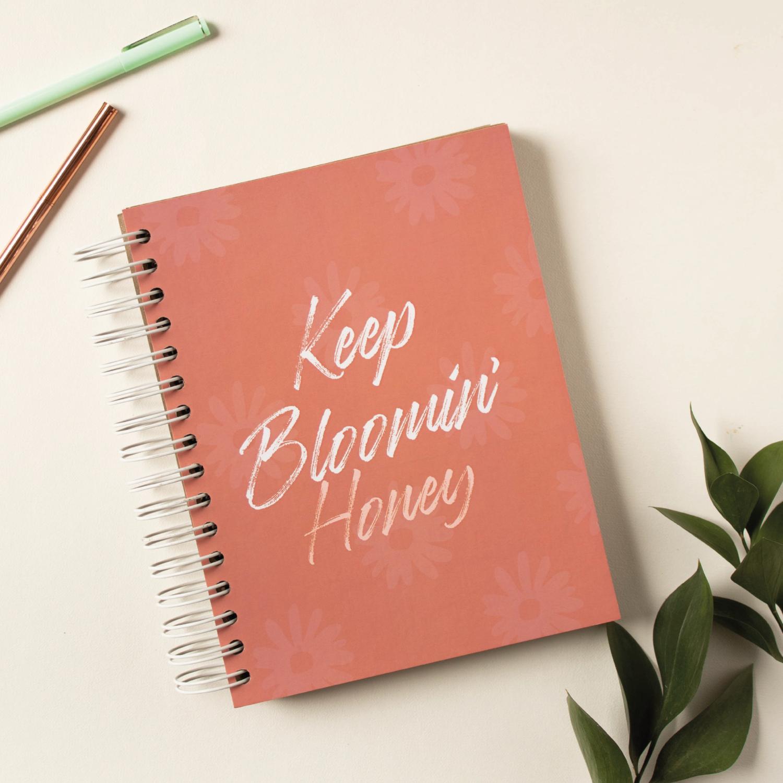 Cuaderno Kraft- Bloomin