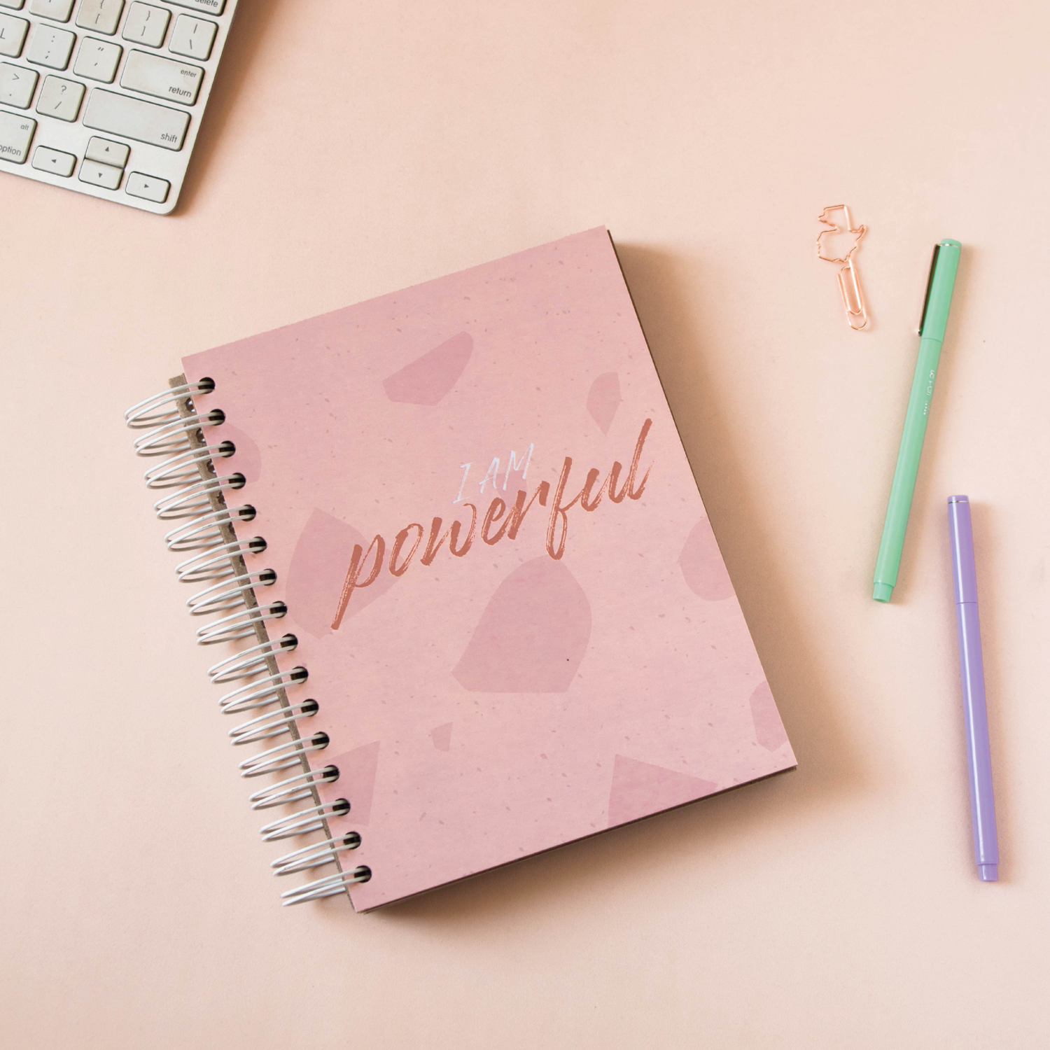 Cuaderno Kraft- Powerful
