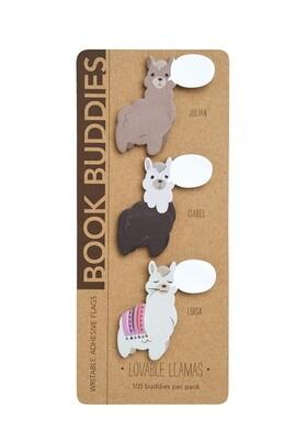 Lovable Llamas Book Buddies