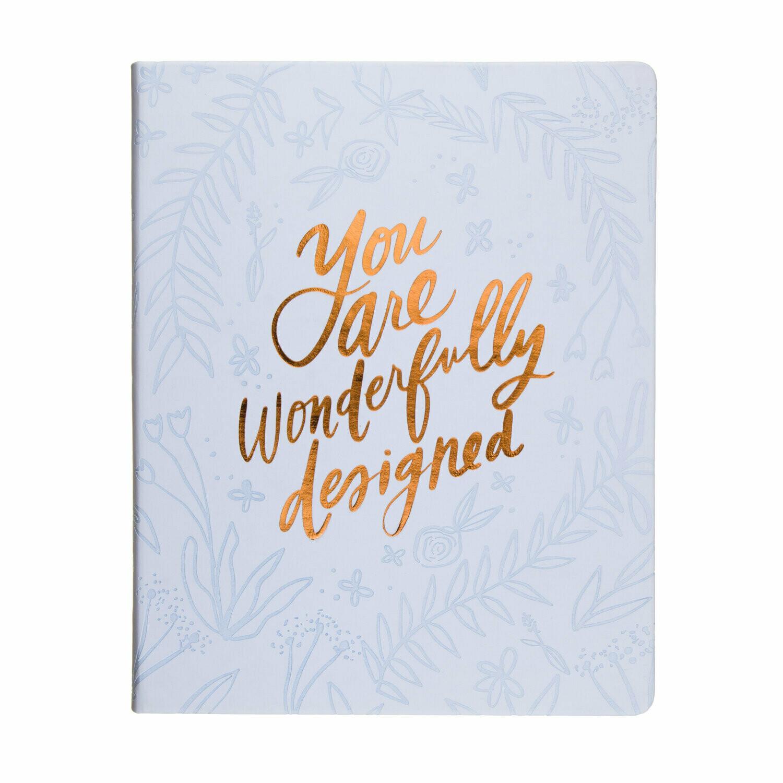 Wonderful Designed- Desk Faith Journal