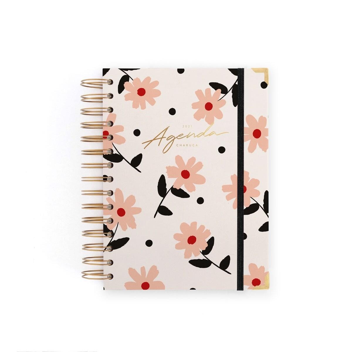 Agenda Charuca Floral- Mediana Diaria