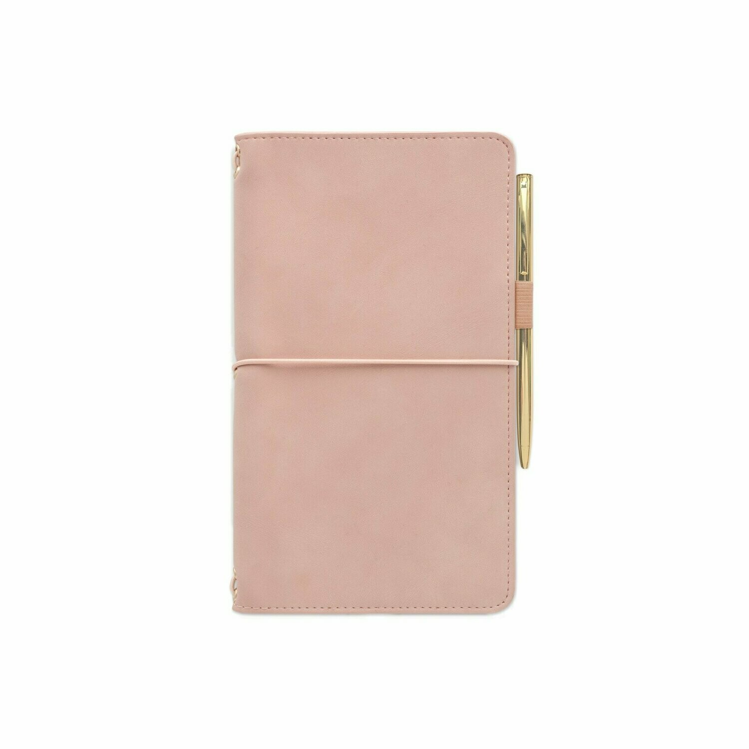 Traveler´s Notebook Blush- Vegan Leather