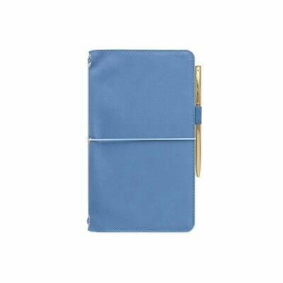 Traveler´s Notebook blue- Vegan Leather