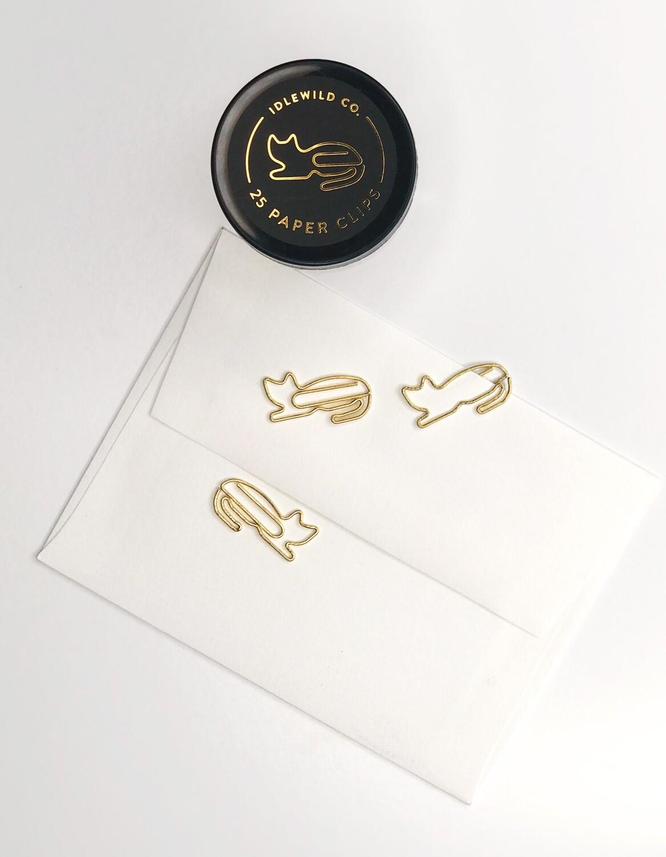 Cat- Paper Clip