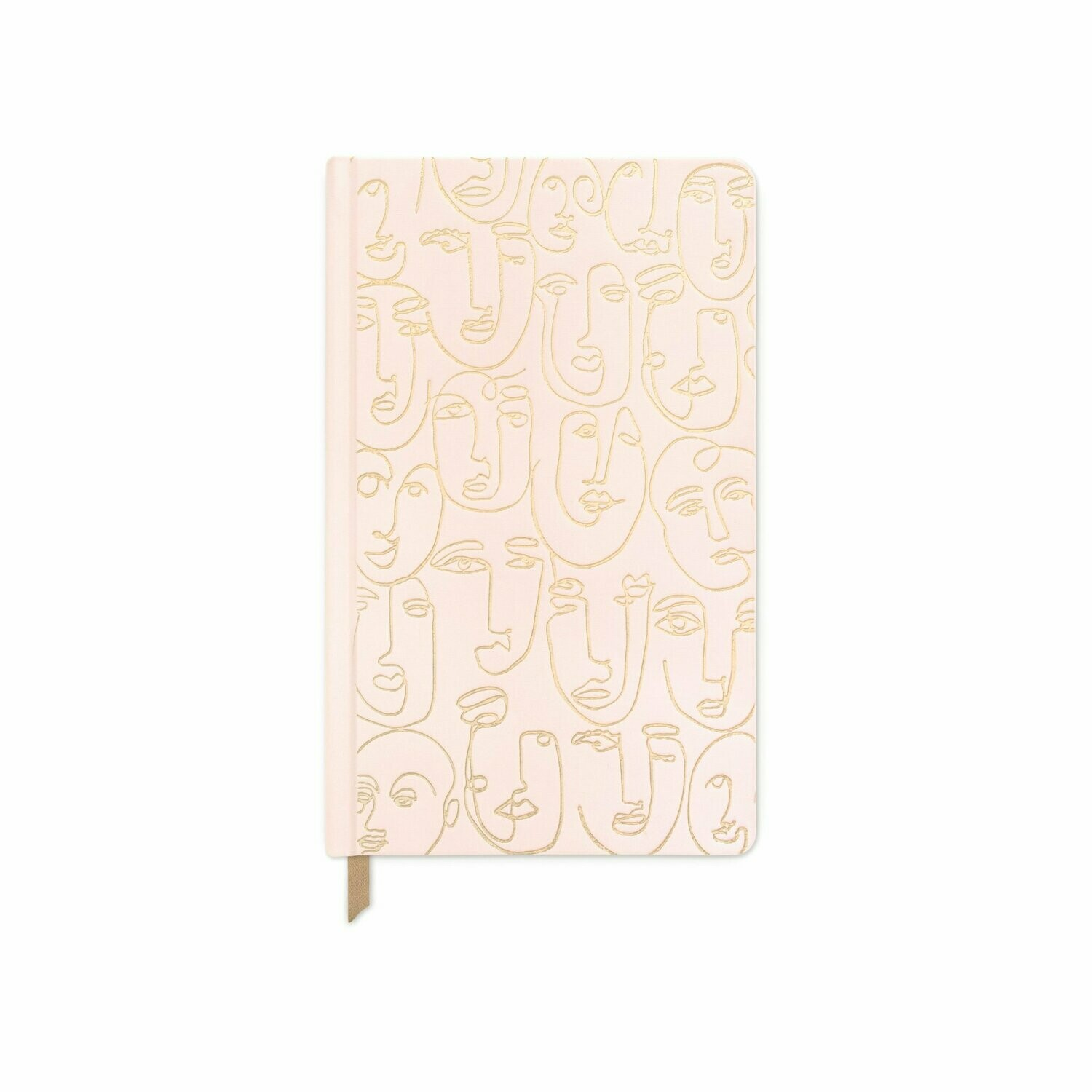 Faces- Cuaderno Tela