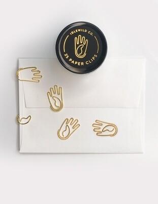 Hand- Paper Clip
