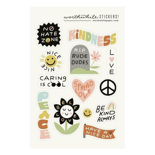 Kindness Sticker Sheets