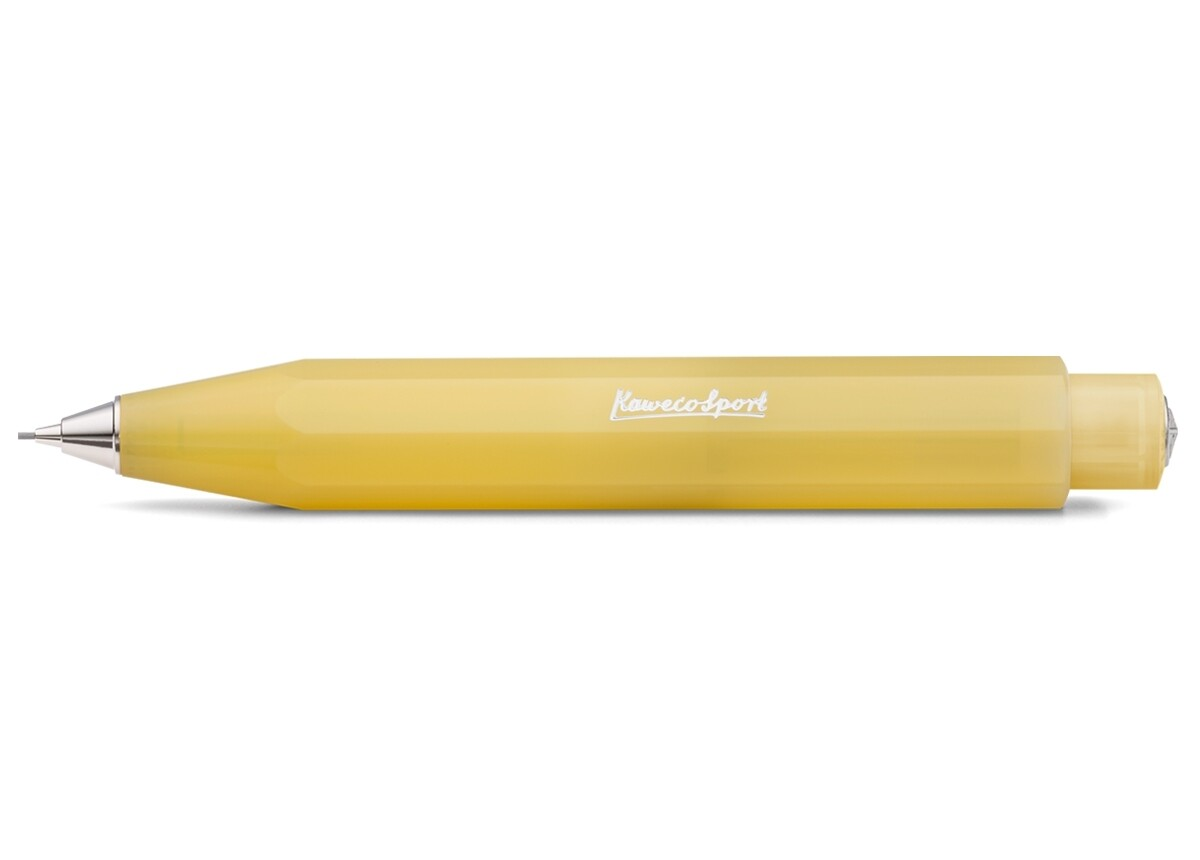 Kaweco Frosted Sport Mechanical pencil- Sweet Banana