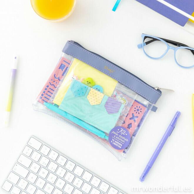 Kit para personalizar y animar tu agenda y libretas