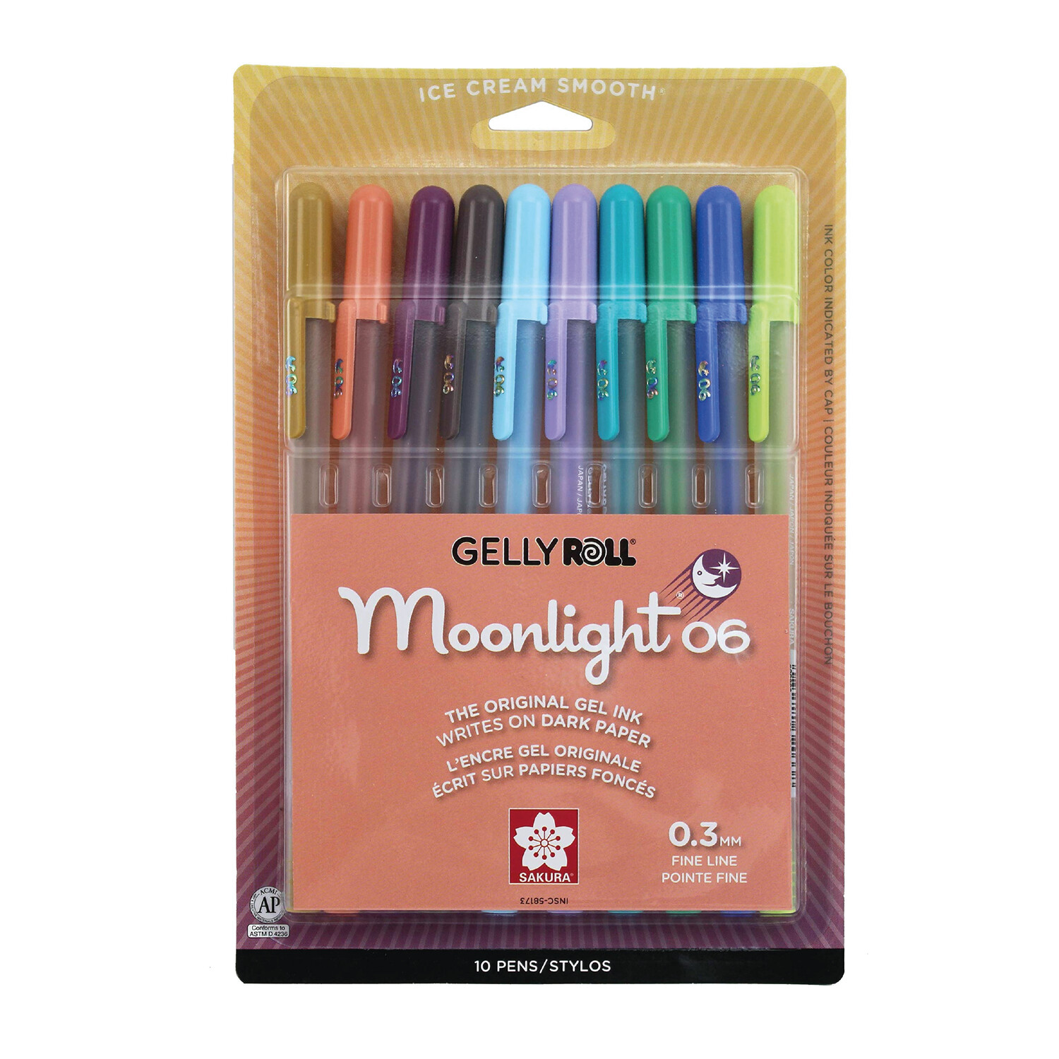 Gelly Roll Moonlight New Colors(10)