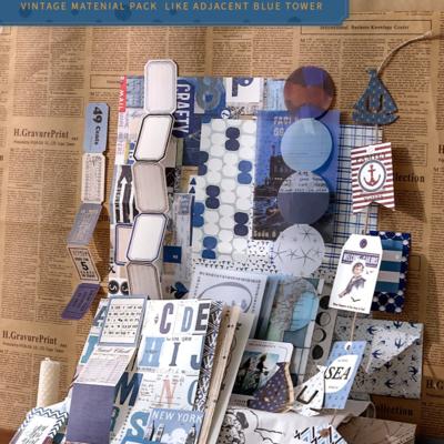 Vintage Kit - Blue