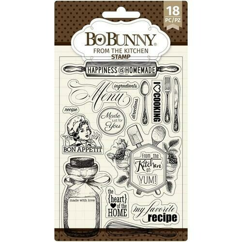 Clear Stamps-Kitchen