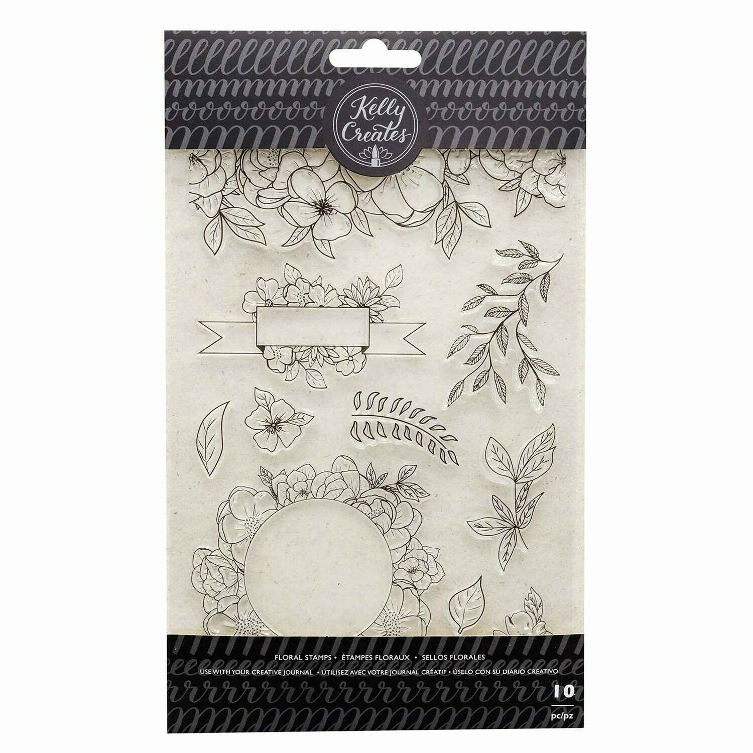 Clear Stamps-Florals