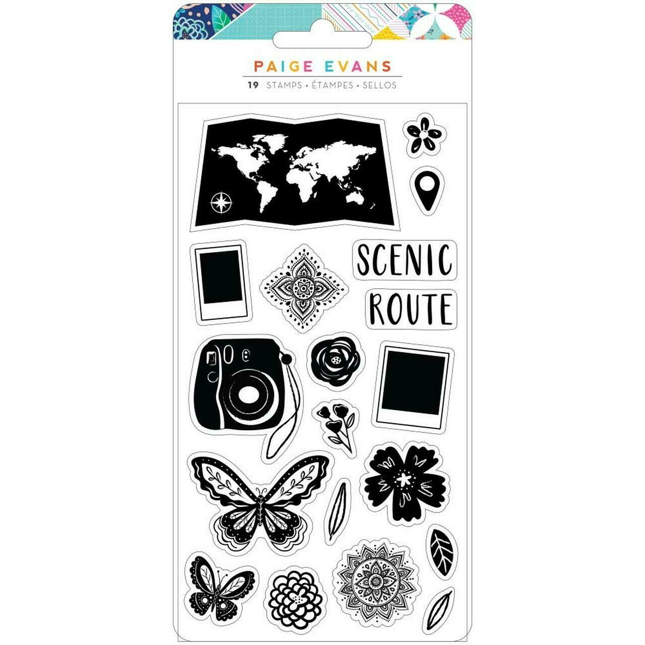 Clear Stamps-Go the scenic route