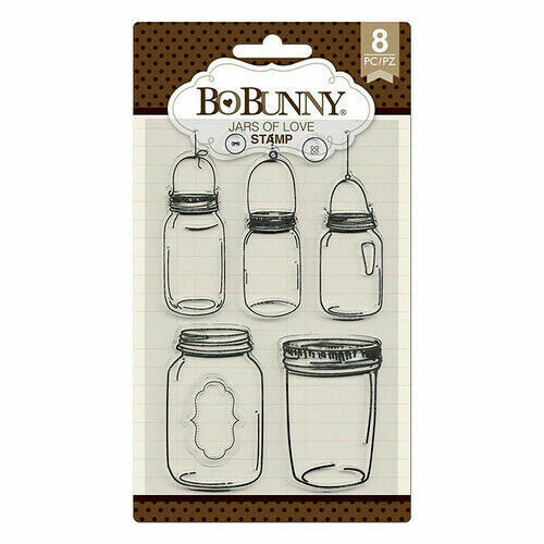 Clear Stamps-Jars