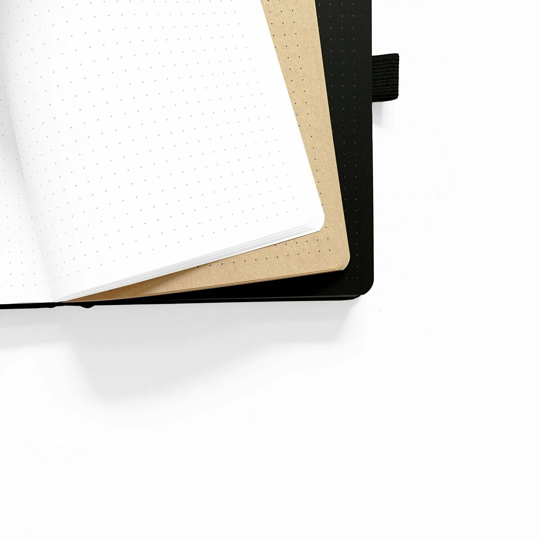 Neapolitan Dot Grid Notepad- Archer&Olive