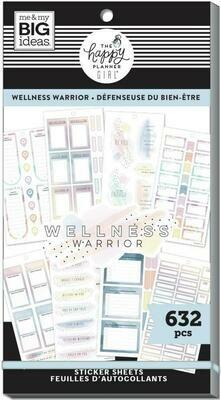 Wellness- Sticker book