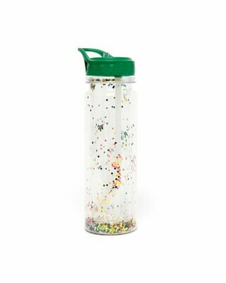 Glitter Bomb Water Bottle - Flower Bomb