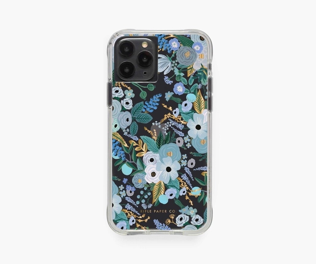 iPhone Case- Garden Party Blue