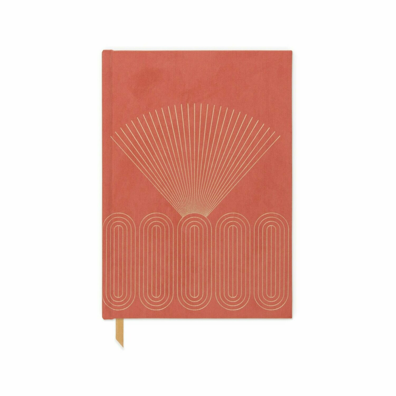 Radiant Rays - Cuaderno Tela