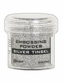 Silver Tinsel- Polvos para Embosar