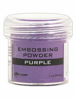 Purple- Polvos para Embosar
