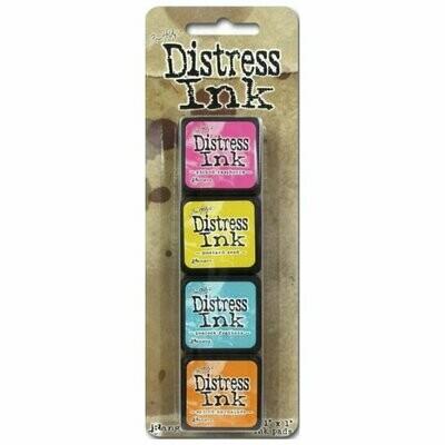 Tim Holtz Mini Distress® Ink Kit 1- set de 4