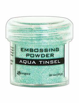 Aqua Tinsel- Polvos para Embosar