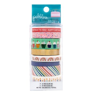 Washi Tape Happy Cake Day
