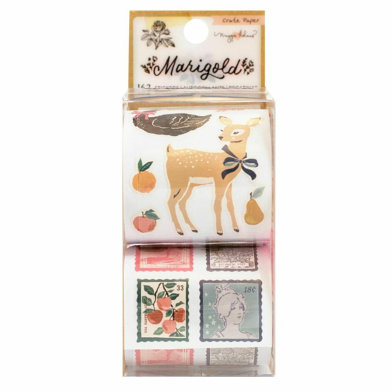Sticker Roll Marigold
