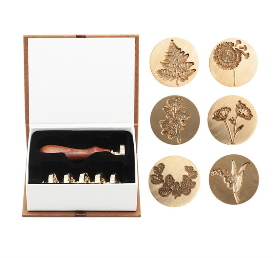 Set 6 sellos-botanics