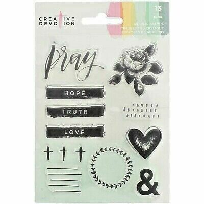 Clear Stamps-Creative devotion