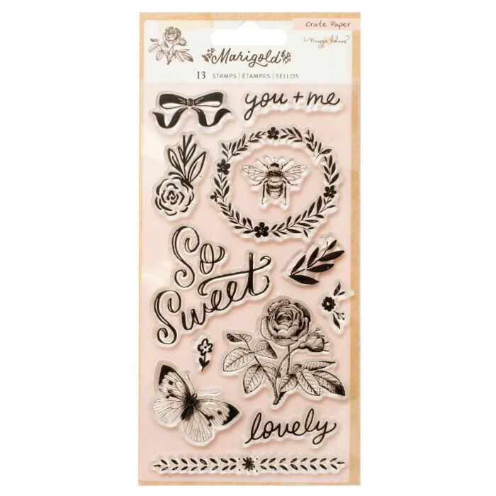 Clear Stamps-Marigold