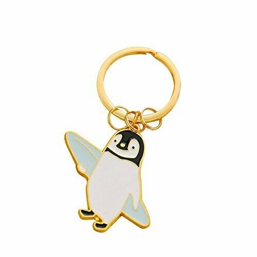 Llavero Metálico Pingüino