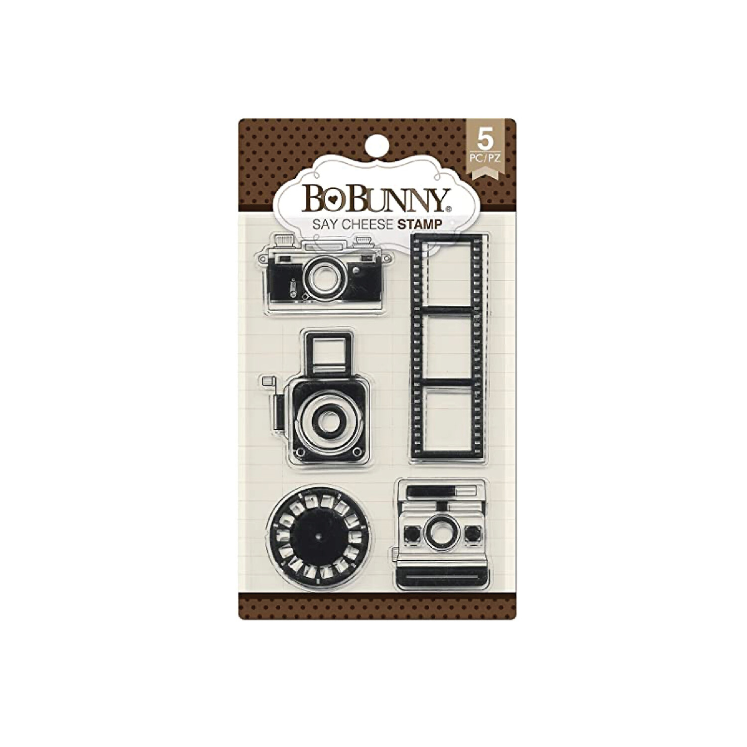 Clear Stamps- Say Cheese