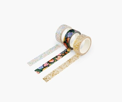 Set 3 washi tape -Strawberry Fields
