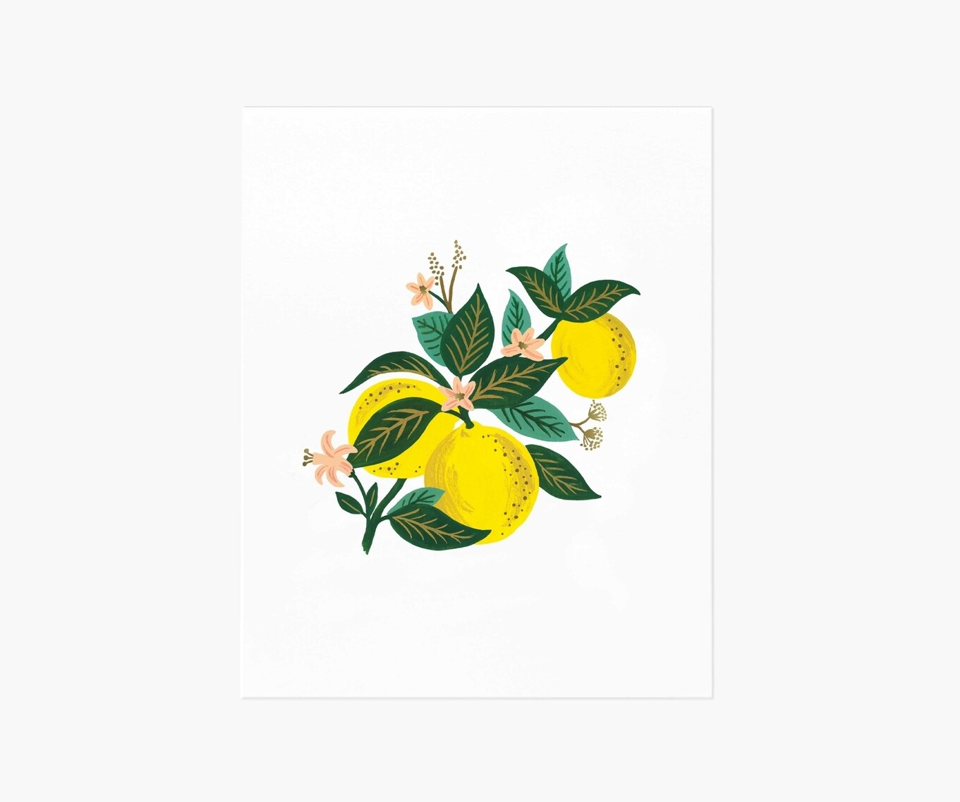 Art Print-Lemons