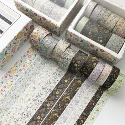 Set Washi Tapes- Flores