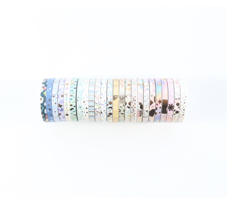 Washi Tape- Pastel+ foil