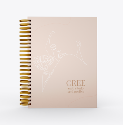 Planificador Dominga SelfLove- Cree en tí