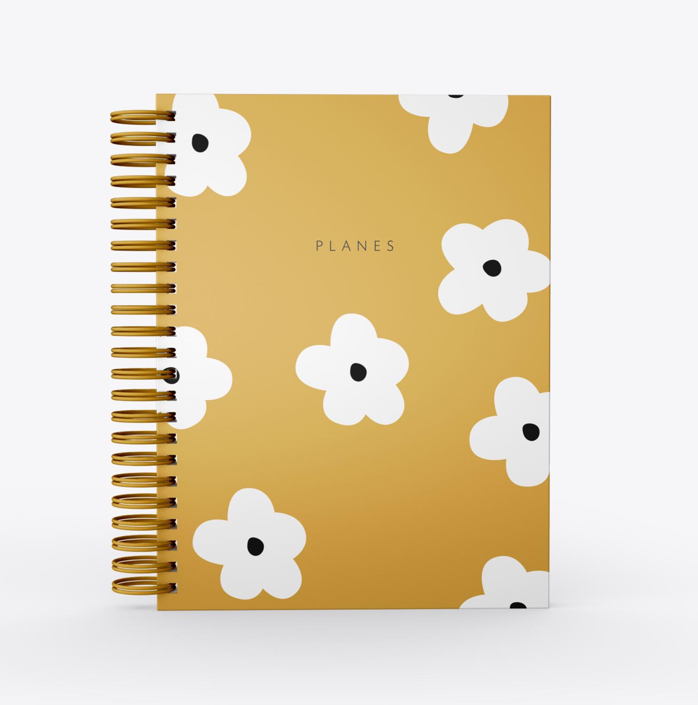 Planificador Dominga SelfLove- Flores