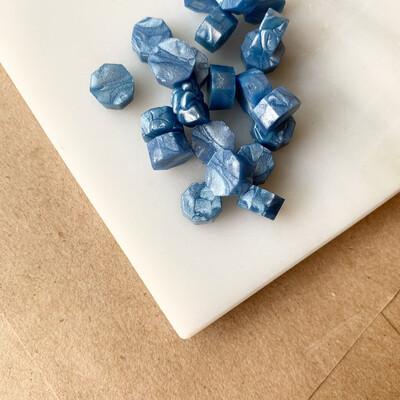 Pastillas de cera - Azul