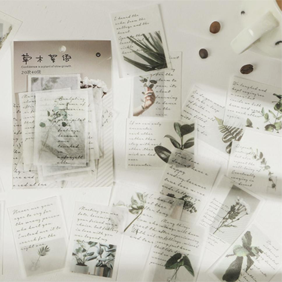 Serendipity - Set Stickers