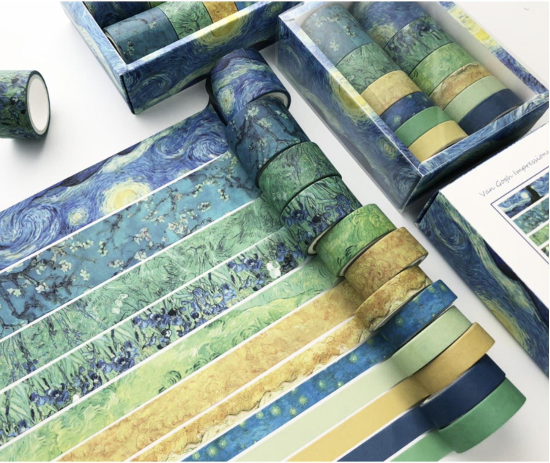 Set Washi Tapes- Van Gogh