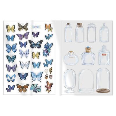 Mariposas/Domo - Stickers Transparentes