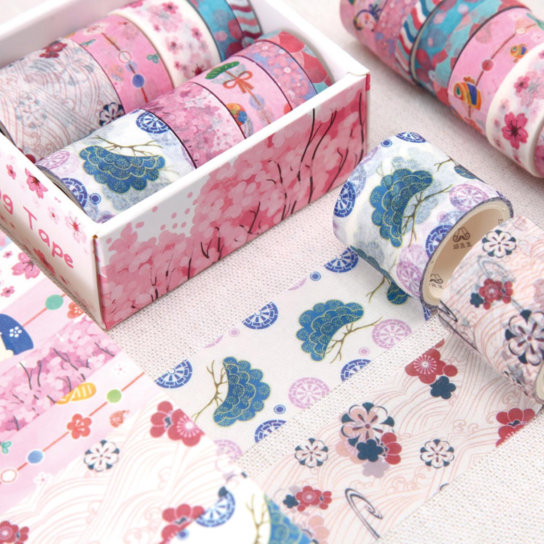 Set Washi Tapes- Blossoms