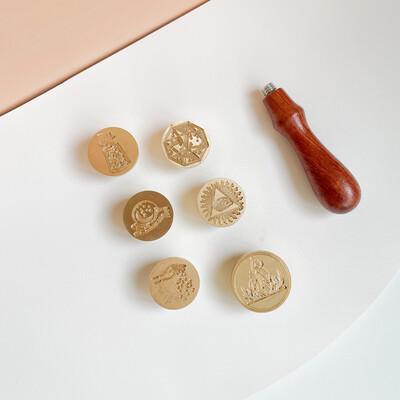 Set 6 sellos- Místicos